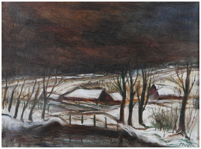"Jacques Mels ""Limburgs Landschap 2"""