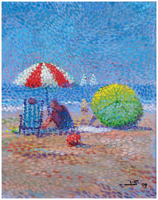 Jan Schipper Pointillisme